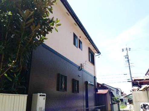 あま市・T様邸外壁塗装工事例