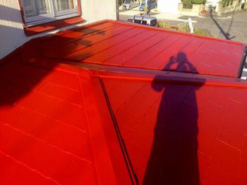 守山区・佐々木様邸屋根塗装施工事例