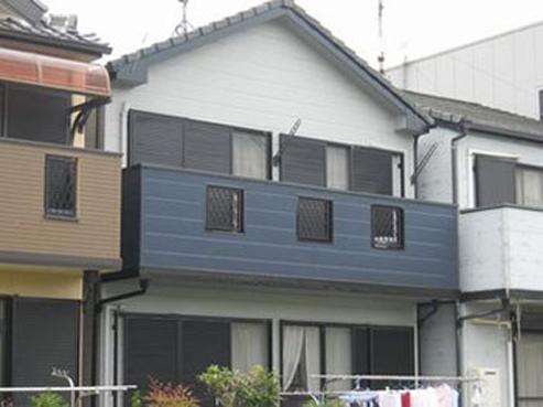中川区I様邸外壁塗装工事
