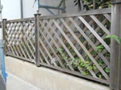 木製フェンス塗装施工事例