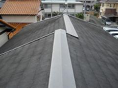 蟹江町・杉下様邸屋根遮熱塗装工事